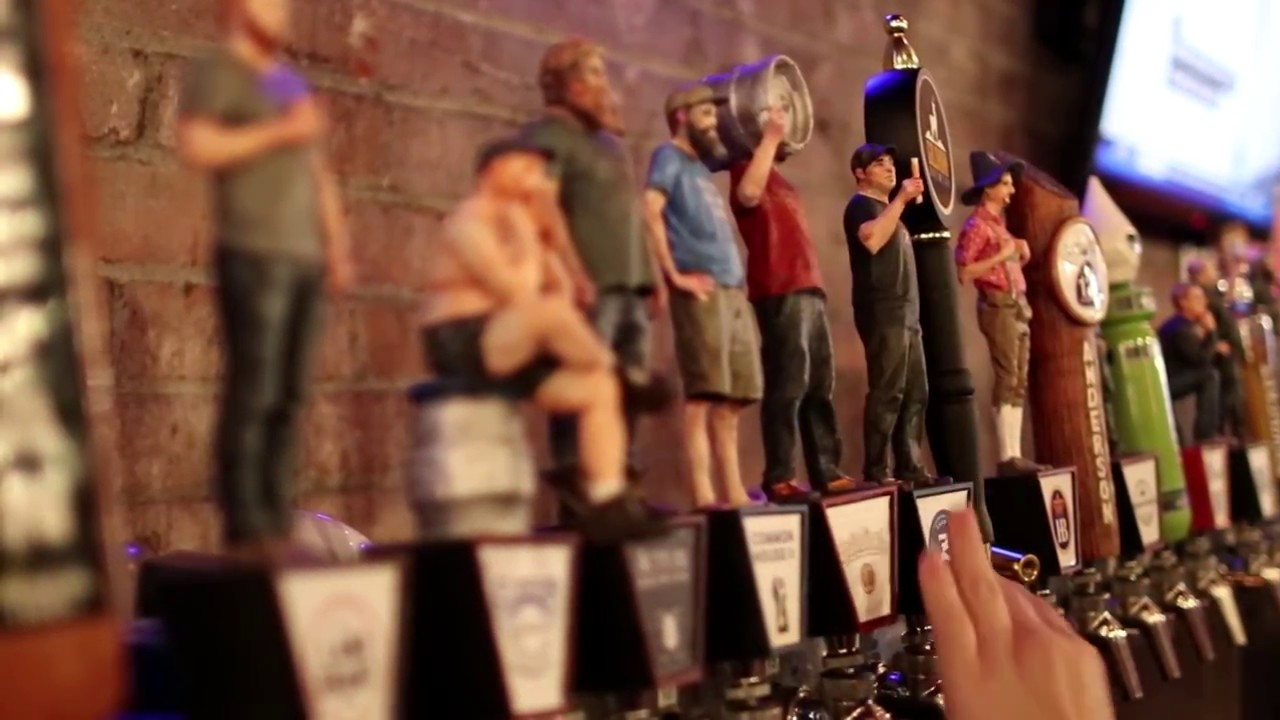Tap Takeover: 3D Printed Beer Taps - YouTube
