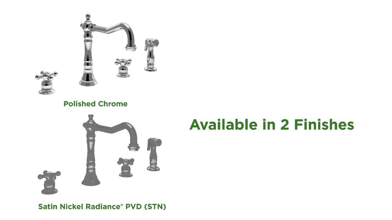 Symmons Carrington Kitchen Faucet S-2650 - Product Features - YouTube