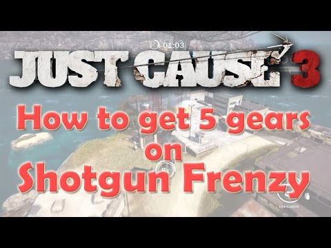 just cause 3 shotgun frenzy