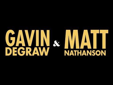 Matt Nathanson & Gavin DeGraw Summer Tour...