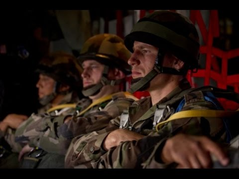 French Foreign Legion Training - Forcible Entry Exercise with 82nd Airborne Division