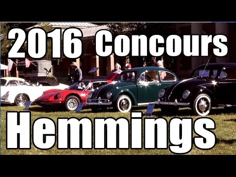 Classic VW BuGs 2016 Hemmings Concours D' Elegance Saratoga NY Car Show