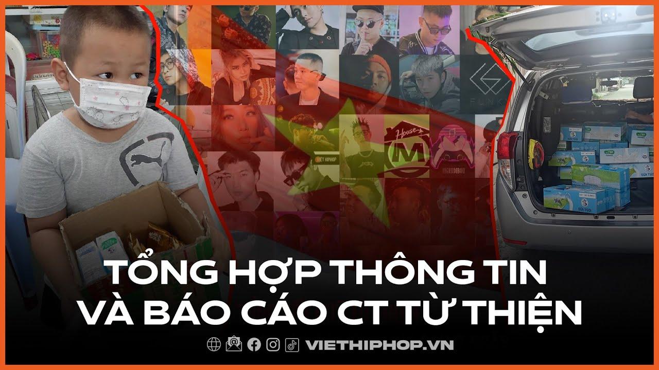 Chương trình từ thiện chống dịch Covid19 của cộng đồng Việt Hiphop | Tổng hợp thông tin và báo cáo