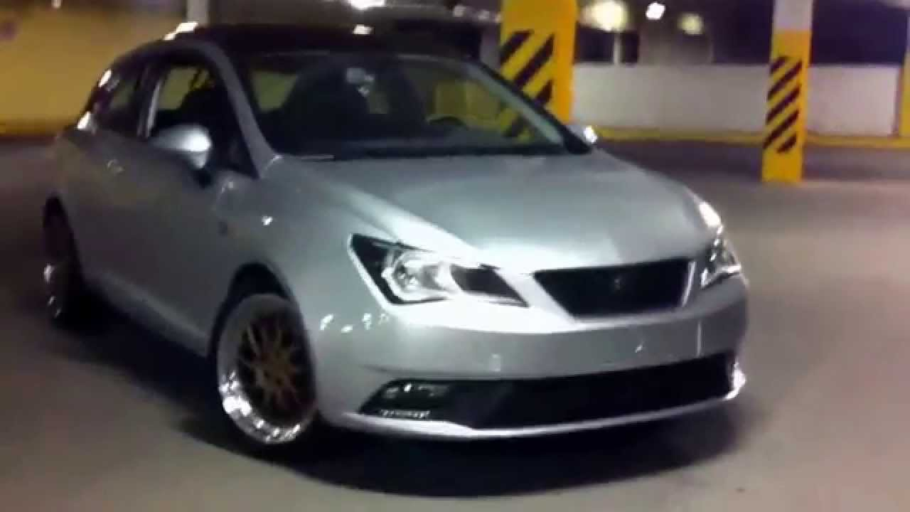 seat ibiza style coupe 2013 bytellez racing youtube. Black Bedroom Furniture Sets. Home Design Ideas