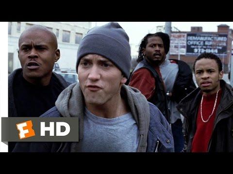 8 Mile (2002) - Cheddar Pulls a Gun Scene (5/10) | Movieclips