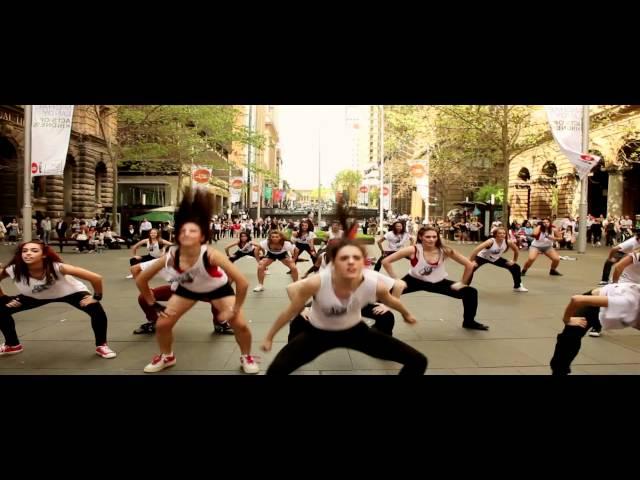 Sydney Martin Place Flash Mob