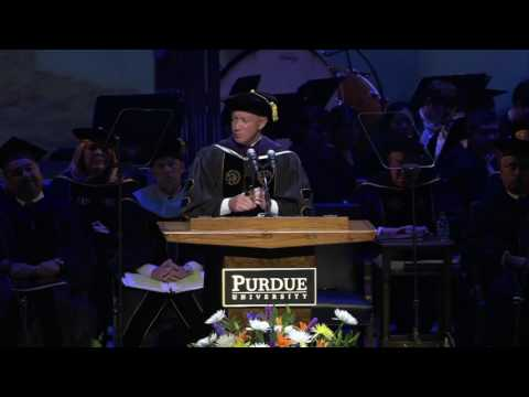 President Daniels Commencement Speech May 2016