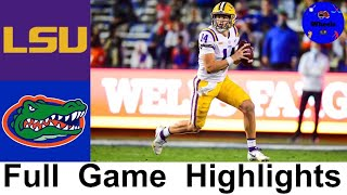 LSU Vs #6 Florida Highlights | College Football Week 15 | 2020 College Football Highlights