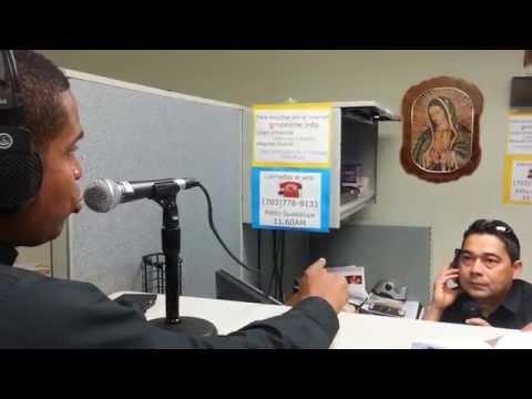 Padre Raúl Jordán Balanta y Julio Flores-1160AM Guadalupe Radio