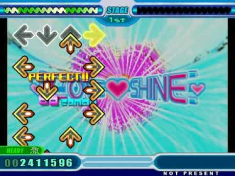 StepMania - DDR 8th Mix -Extreme- - Love Shine (heavy)