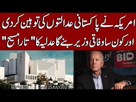 America ne Pakistani Adalton ki Toheen kar di | Exclusive Details by Syed Imran Shafqat