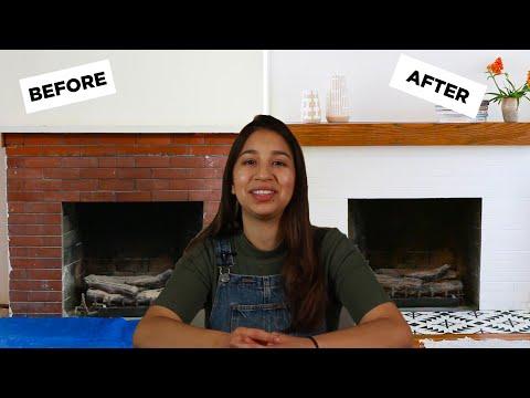 How I Made A Fireplace Mantel