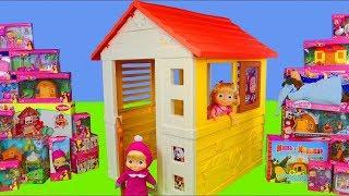 Masha y el oso juguetes - La Casa del Árbol de Masha y el Oso