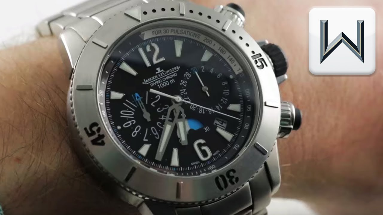 3f99e132cb3 Jaeger-Lecoultre Master Compressor Diving Chronograph (Q186T170) Luxury  Watch Review