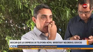 Buscan que las empresas de telefonía móvil  inviertan y mejoren el servicio