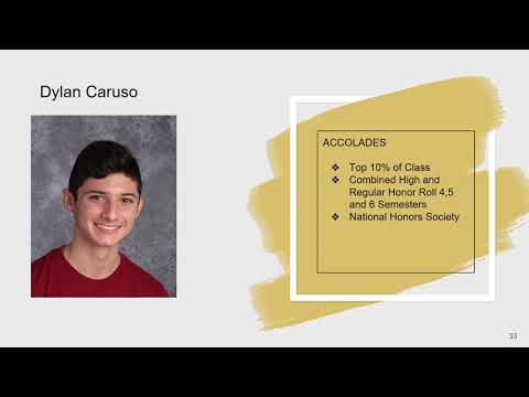 Streamwood High School Senior Recognition   May 22, 2020