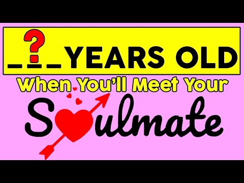 At What Age Will You Meet Your Soulmate? Love Personality Test | Mister Test