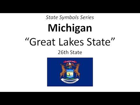 State Symbols Series Michigan Youtube