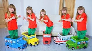 Ulya play with Toy Cars
