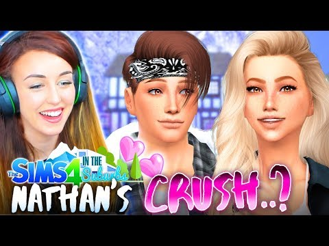 NATHAN'S GOOD INFLUENCE...? 💕 (The Sims 4 IN THE SUBURBS #45! 🏘)