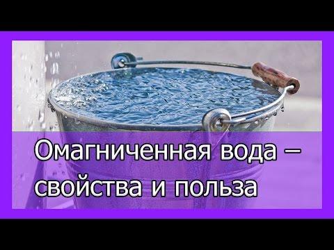 Омагниченная вода   Получение омагниченной воды дома