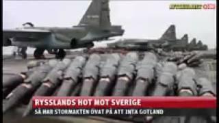 Rysslands hot mot Sverige