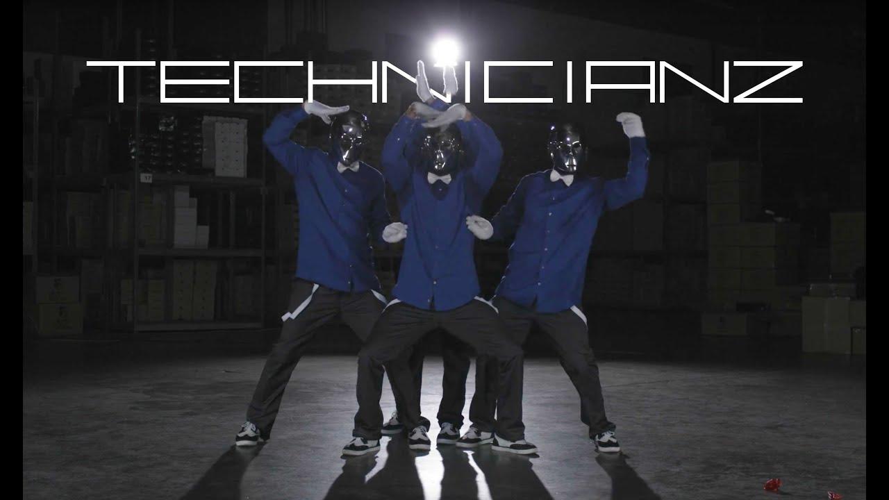 Amazing Robot Dance Group Technicianz Youtube
