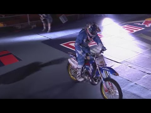 Robbie Maddison's Red Bull New Years Motorcycle Jump at a Las Vegas Casino - Part 1