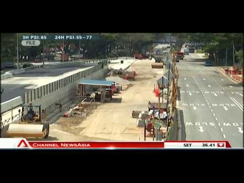 LTA's contractor for Downtown Line 2 went bust   24Jun2013