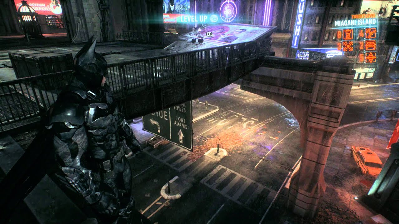 Batman Arkham Knight Miagani Island Checkpoint Locations Own The Roads Youtube