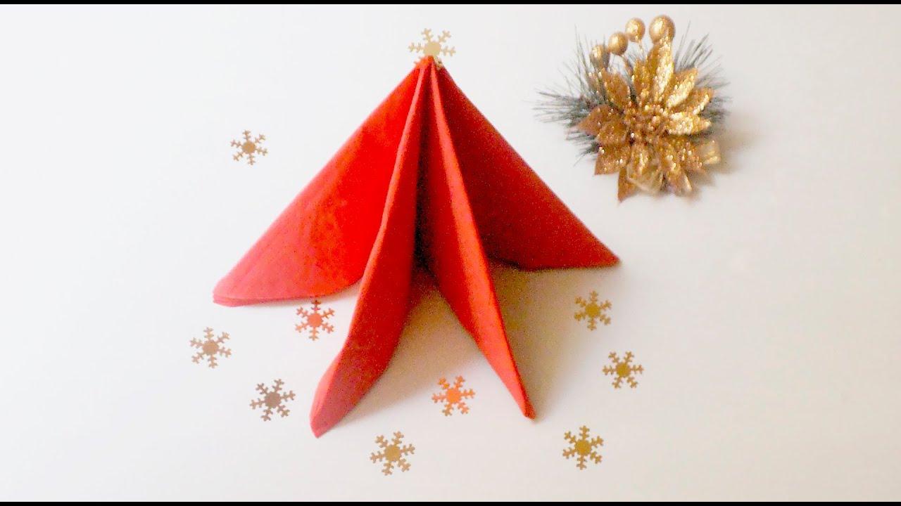 4 doblados de servilletas para navidad sabor de fiesta - Doblar servilletas para navidad ...