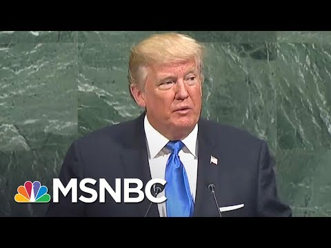 Lawrence: Why Donald Trump's UN Speech Worst, Most Dangerous In History | The Last Word | MSNBC