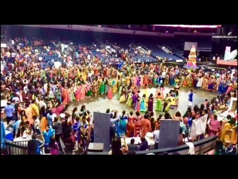 BATHUKAMMA Event At Dallas Texas USA