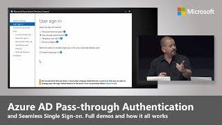 Azure AD Pass through authentication