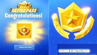 *NEW* SEASON 8 BATTLE PASS FREE! (Fortnite Season 8 Battle Pass)