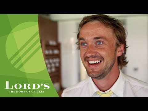 Harry Potter star Tom Felton at the cricket - England vs South Africa   MCC/Lord's