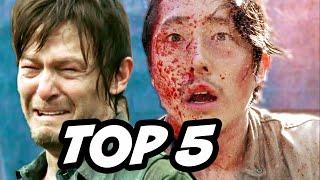 Walking Dead Season 6 Episode 3 - TOP 5 WTF