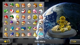 All Characters, Karts, Wheels, and Gliders - Mario Kart 8 Deluxe