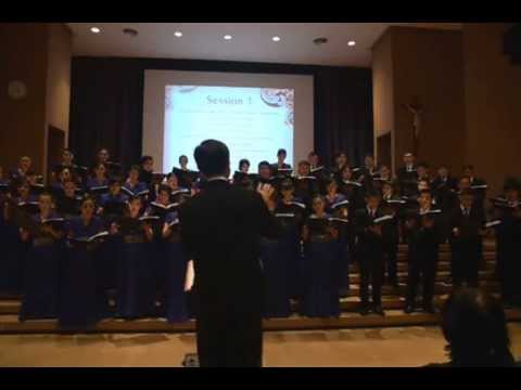 Then Sings My Soul ( Stuart K. Hine / Mary McDonald ) - performed by Vox Angelorum Choir