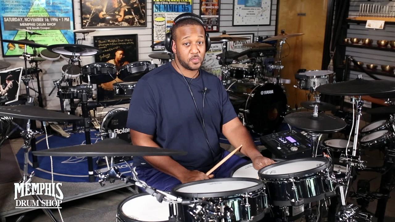 James Sexton plays the Roland TD-50KV Electronic Drum Set - Memphis Drum  Shop