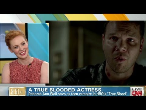 'True Blood' star on playing a vampire