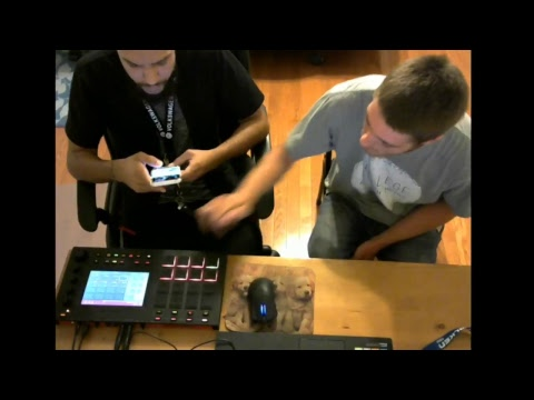 Ben Ft Beatwiz Live Beat Collab Round 2!