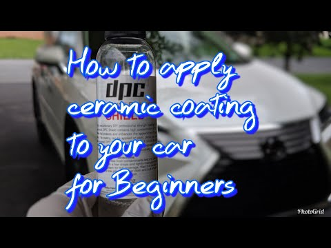 How to prep and apply ceramic coating to your vehicle for beginners using DPC Shield!