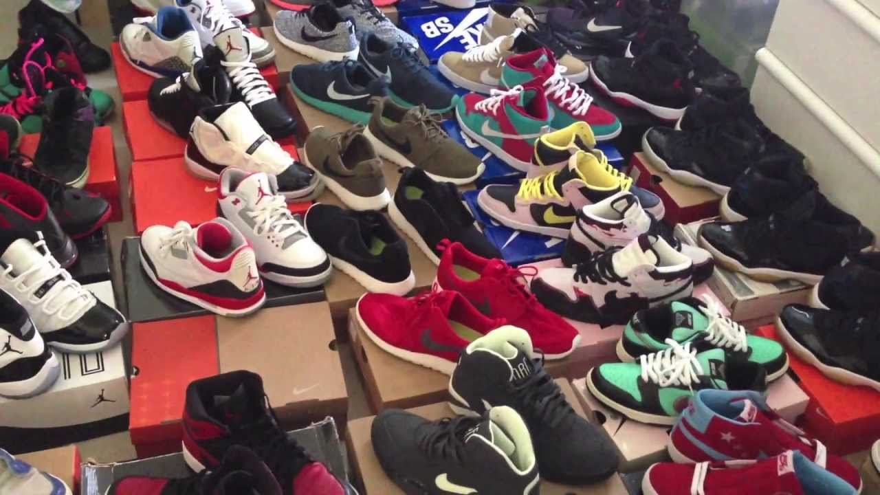My Updated Shoe Collection 6 19 13 Youtube