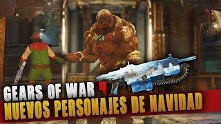 GEARS OF WAR 4   NUEVOS PERSONAJES Y SKINS REVELADOS!! OSCAR NAVIDEÑO E IMAGO DE JENGIBRE