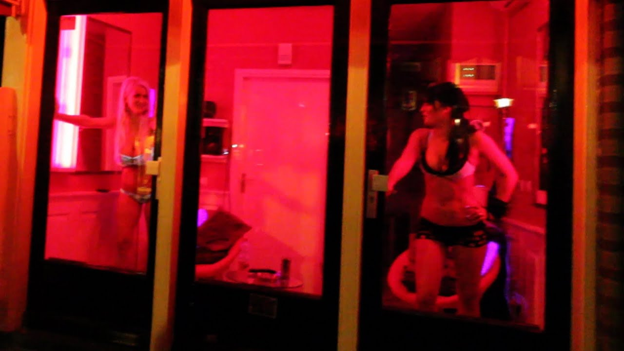 Amsterdam LoverBoy Red Light District Pimps with Mariska
