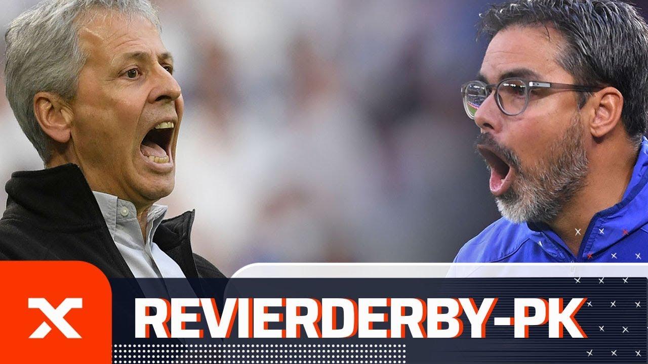 Das sagen Lucien Favre und David Wagner nach dem 0:0 im Revierderby | Schalke - Dortmund 0:0 | SPOX