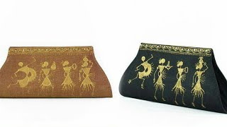 Designer Warli Paintings Hand Bags Collection||Warli Panting Parse Collection||
