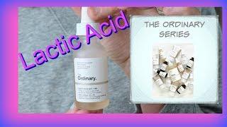 The Ordinary Lactic Acid: Anti Aging Powerhouse!