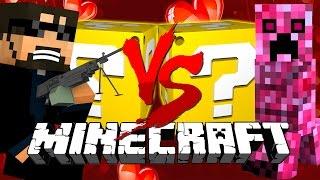 Minecraft: VALENTINES LUCKY BLOCK CHALLENGE | TARGET PRACTICE!!